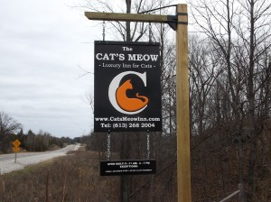 CatsMeow-HWY7-sign